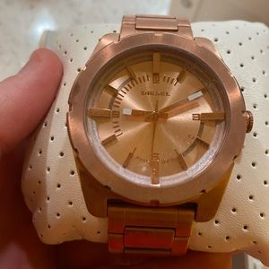 Rose Gold Mens Diesel Watch